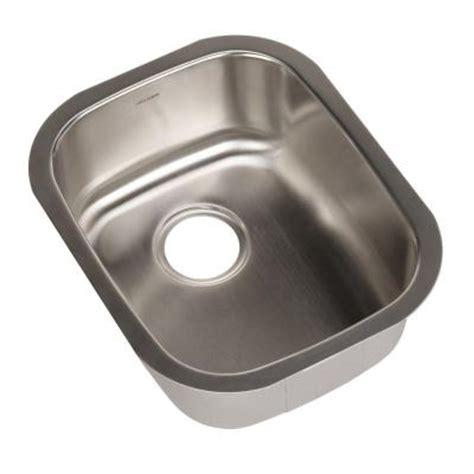Houzer Sinks Home Depot by Houzer Club Series Undermount 15 In Single Bowl Bar Prep