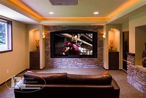 Basement Home Theater - Traditional - Home Theater - Minneapolis