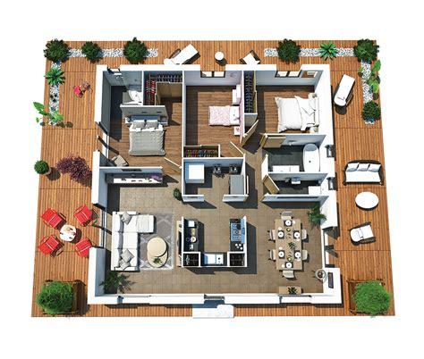 modele cuisine americaine modèle de maison villa dona