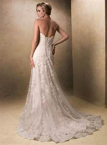 Vintage Lace Sweetheart Wedding Dresses | Sang Maestro