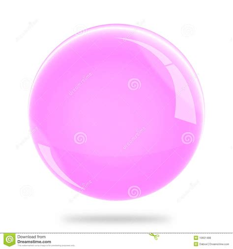 Blank Pink Sphere Float Royalty Free Stock Photos Image