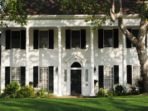 colonial style colonial homes colonial house plans