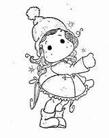 Magnolia Stamps Tilda Digi Coloring Pages Winter Digital Tampons Stamp Colorier Christmas Adult Way Copic Ausmalbilder Malvorlagen Digitaux Da Kostenlos sketch template
