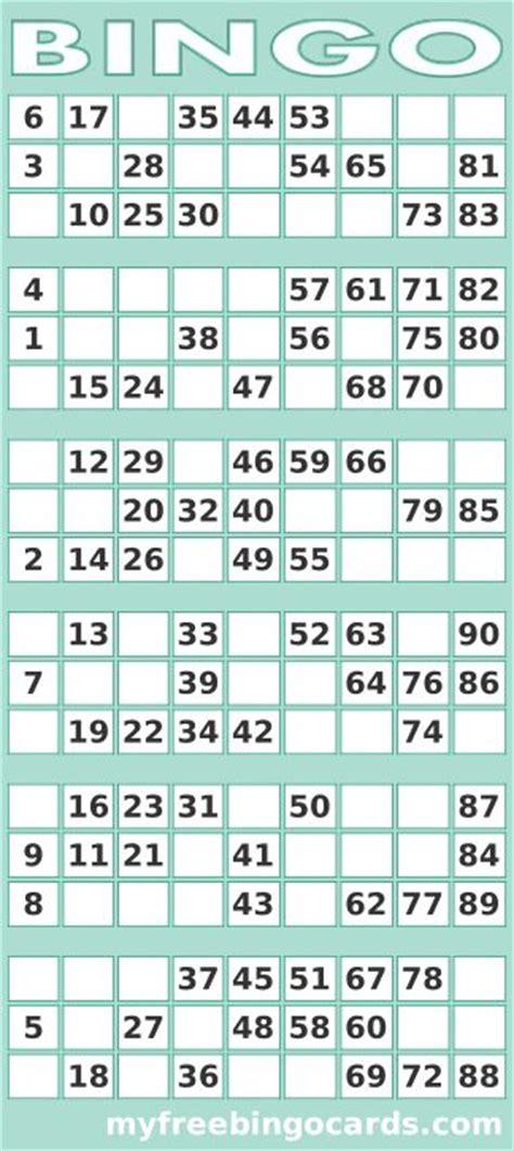 printable   uk bingo card generator  printable