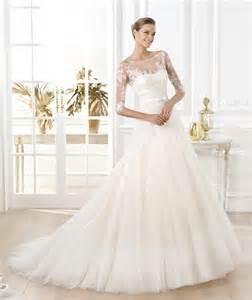 bateau neckline wedding dress a line illusion bateau neckline sleeve glitter tulle lace wedding dress