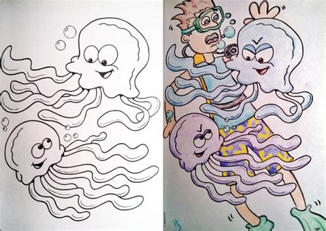 hilarious coloring books  children   adults