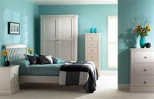 Schlafzimmer Weiße Möbel : schlafzimmer blau 50 blaue schlafbereiche die schlaf und erholung garantieren ~ Markanthonyermac.com Haus und Dekorationen