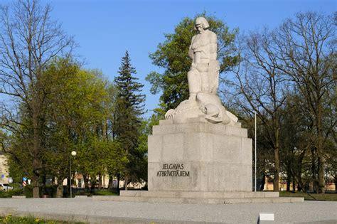 """Piemineklis Jelgavas atbrīvotājiem """"Lāčplēsis"""