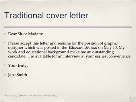 find te errors in cover letter lecture 3 1 how to write a cover letter student notes
