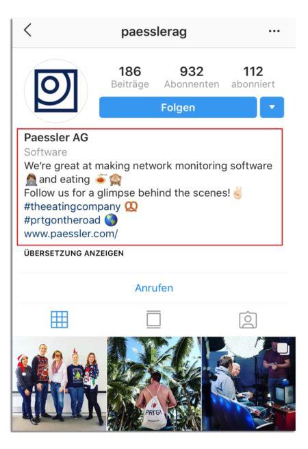 instagram profil gestalten guide fuer  mediabynature