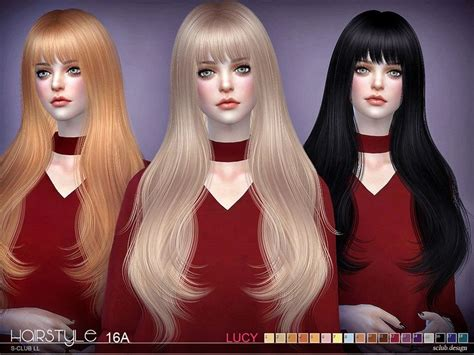 So i made my own version of such a mod The Sims Resource: Lucy n16A hair by S-Club - Sims 4 Hairs - http://sims4hairs.com/the-sims ...