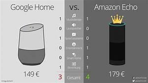 Google Home Oder Amazon Echo : google home vs amazon echo ein match in 6 runden giga ~ Frokenaadalensverden.com Haus und Dekorationen