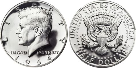 kennedy half dollar 1964 1964 proof kennedy half dollar value coinhelp