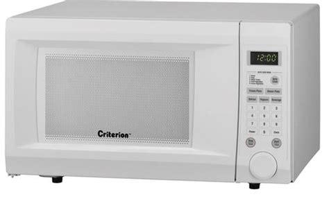 Criterion® 11 Cu Ft White Microwave At Menards®