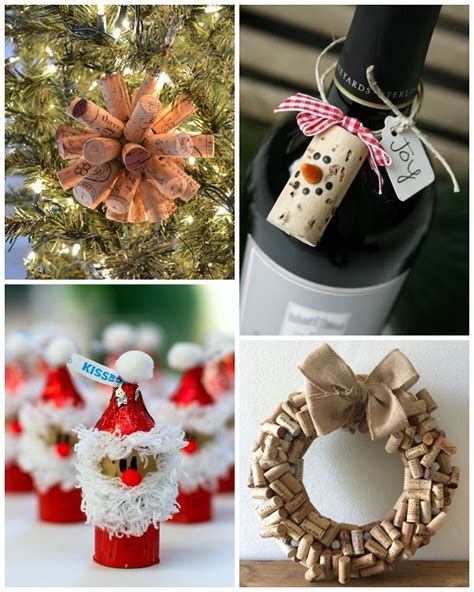 wine cork christmas craft ideas crafty morning
