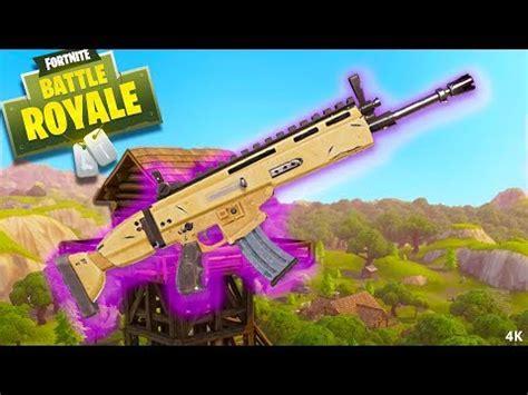 rifle legendary loadouts fortnite battle