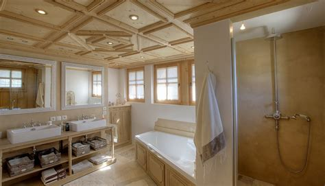 salle de bain chalet de luxe solutions pour la