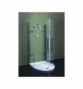 Cabine Douche 3 Parois Vitrées : cabine de douche tomar 105 93 190 cm cabine de douche ~ Premium-room.com Idées de Décoration