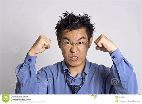 Angry Adult Stock Photography