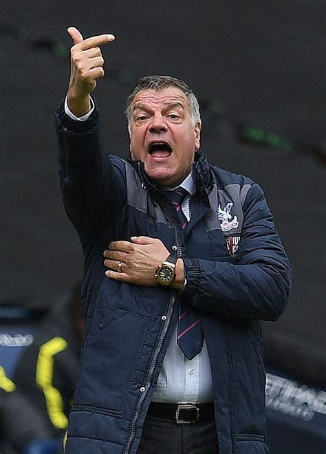 Sam Allardyce quits as Crystal Palace manager with