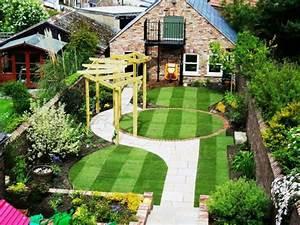 Gartengestaltung Kleine Gärten Bilder : gartengestaltung ideen kleiner garten ~ Lizthompson.info Haus und Dekorationen
