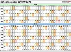 2018 2018 School Year Calendar Template Beautiful