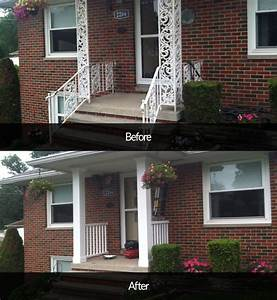 front, porch, update