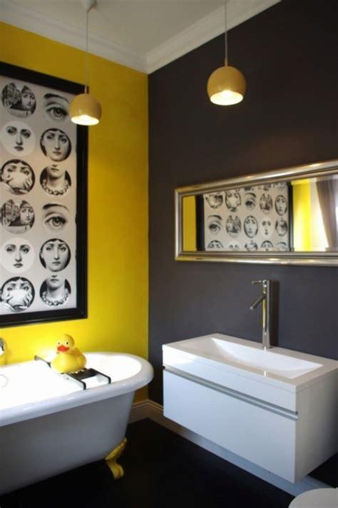bright  sunny yellow ideas  perfect bathroom