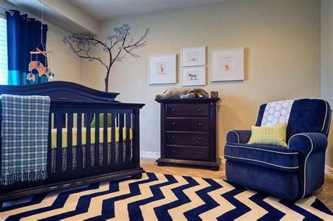 chambre bebe beige décoration chambre bleu et beige