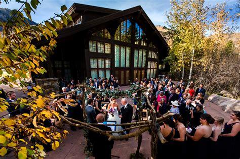 scott danielles donovan pavilion wedding  vail top