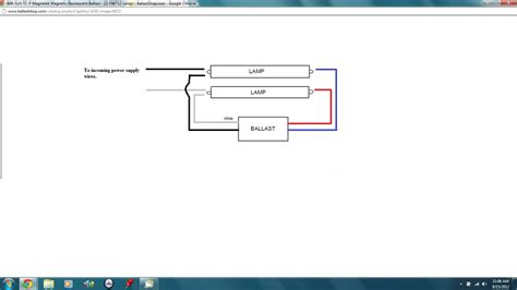 T12 Wiring Diagram by What Is The Ballast Wiring Set Up When Converting From A