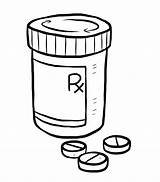 Pill Bottle Drawing Medication Prednisone Medicine Medical Non Coloring Sketch Pages Goes Way Long Little Getdrawings Switching Happy sketch template