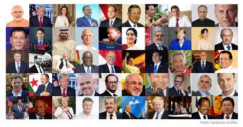 World Leaders On Facebook 2017 Twiplomacy