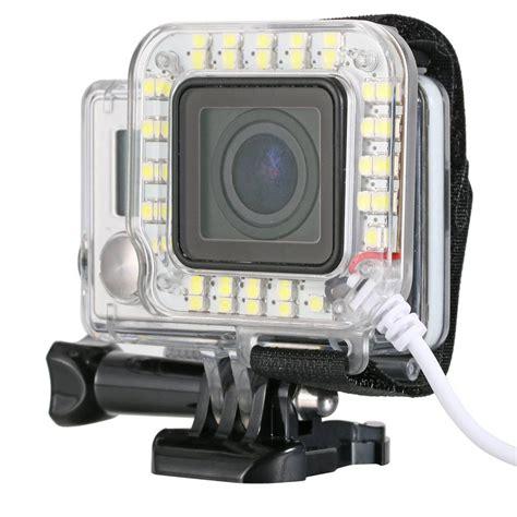 gopro led light geeek gopro led light flash ring light geeektech