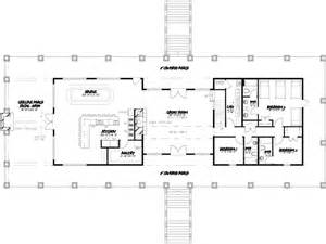 One Story Ranch House Floor Plans