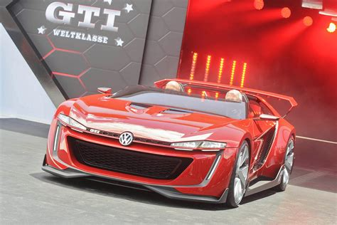 volkswagen gti sports car vw gti roadster concept for gt6 comes to life at