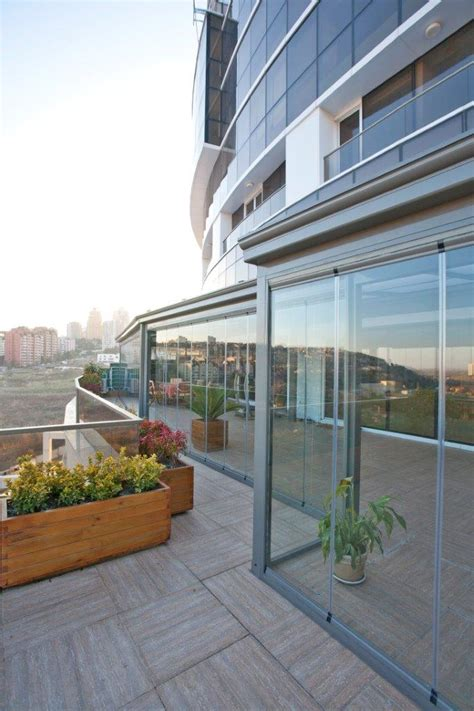 retractable glass wall system in istanbul libart usa