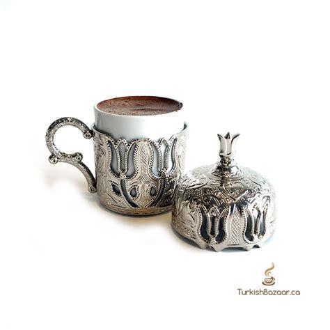 Luxury Ottoman Design Antique Style Brass Turkish Coffee