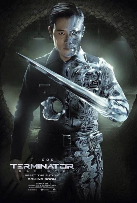 Terminator Genisys Cast Each Gets Their Own Poster