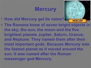 Mercury science project. Gerardo Aguirre
