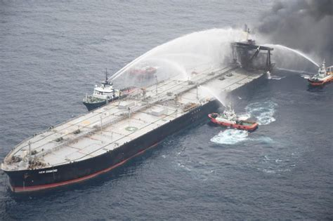 Fire-hit supertanker owner to pay £1.4 million for Sri ...