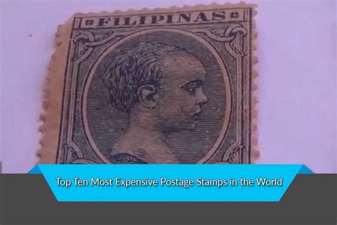 Most Expensive Postage Stamps In The World  Top Ten