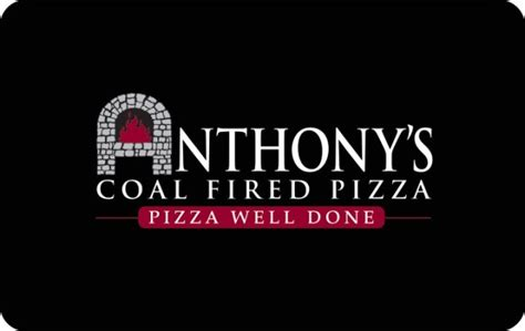anthonys coal fired pizza gift card giftcardmallcom
