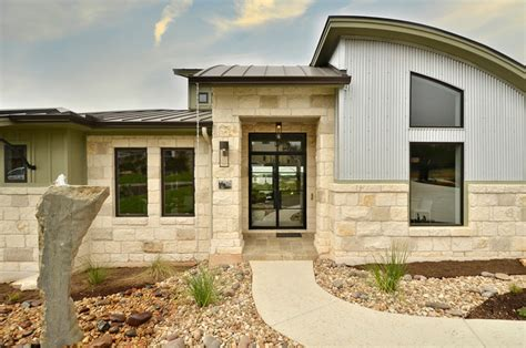 parade home contemporary exterior by pillar