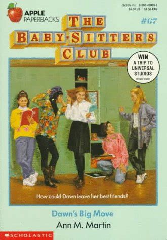 dawns big move  baby sitters club   ann