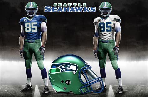 seahawks  uniforms  seahawkscom blog