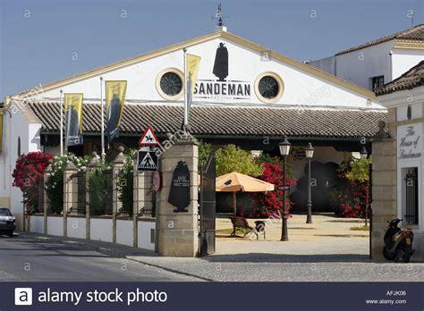 sandeman sherry jerez spain andalusia frontera alamy