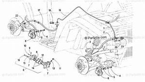 Arctic Cat Atv 2000 Oem Parts Diagram For Hydraulic Brake