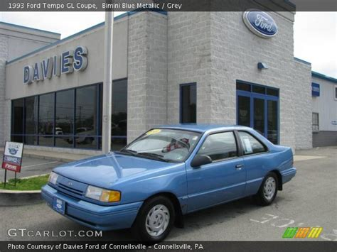 1993 Ford Tempo Gl Coupe