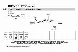 1995 Chevy Silverado Exhaust Diagram